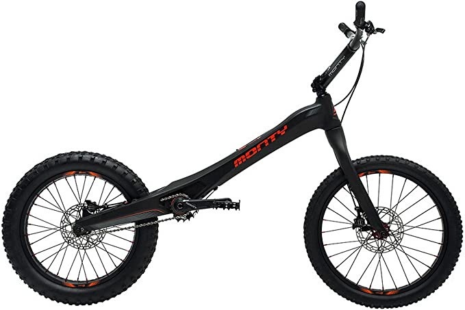 Monty M5 - Bicicleta de Trial, Color Negro/Rojo: Amazon.es ...