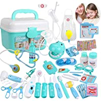 Deals on Goodking 45 Pieces Educational Doctor Pretend Play Toy Set