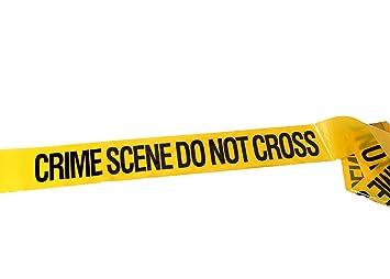 crimekit 30 metre crime scene do not cross tape 100 feet novelty