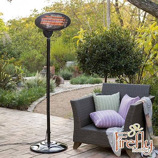 Primrose Firefly Estufa de Pie para Exterior - 3 Opciones de Calor 650W, 1350W and 2000W: Amazon.es: Hogar