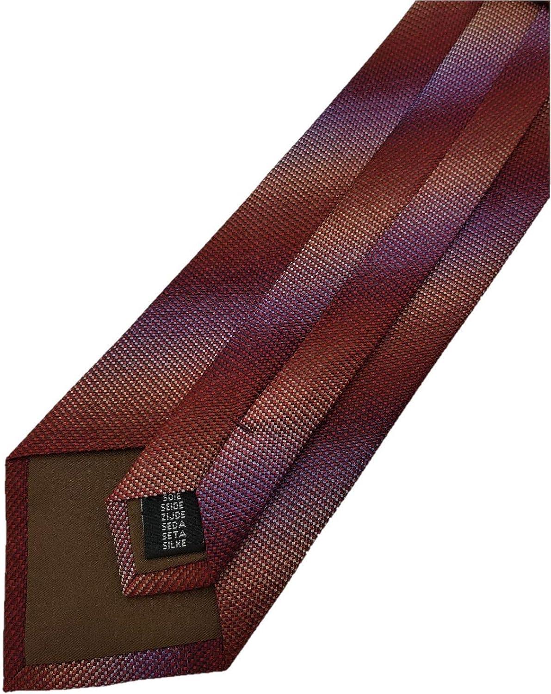 Silk Ties dise/ño de rombos y casillas Corbata seda, 8,5 cm