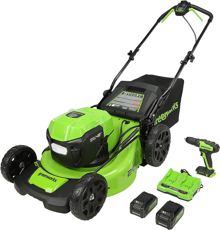 Greenworks Cordless Lawn Mower- 48V