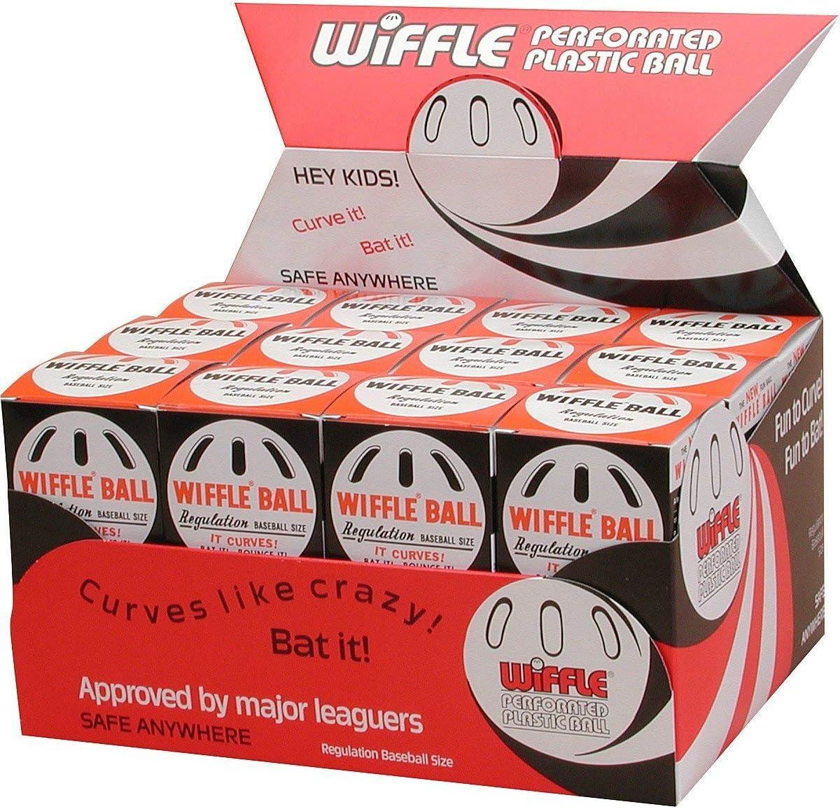 2 Packs of 3 Lot of 6 Wiffle Baseballs