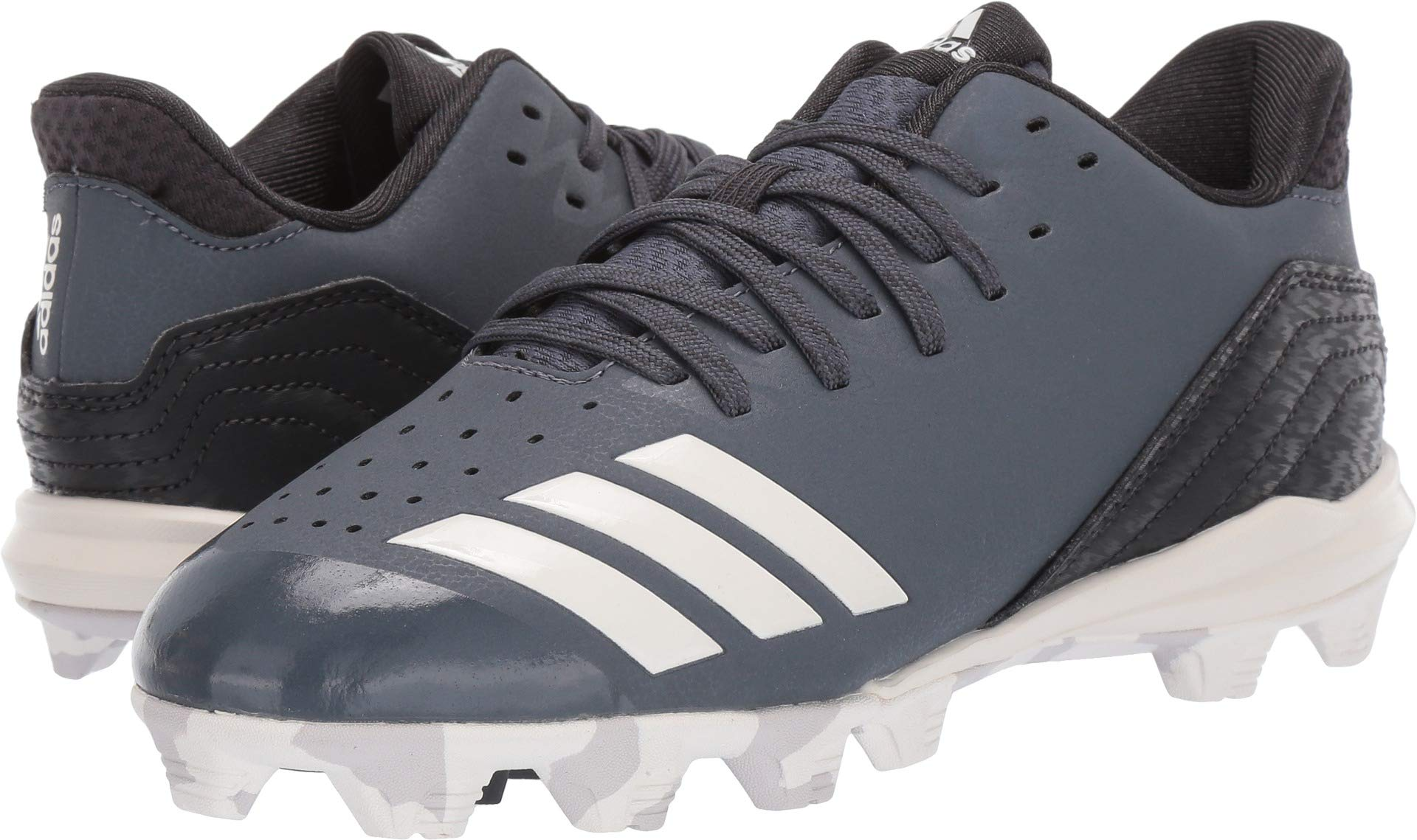 adidas Unisex Icon 4, Onix/Cloud White/Carbon 1.5 M US Little Kid by adidas