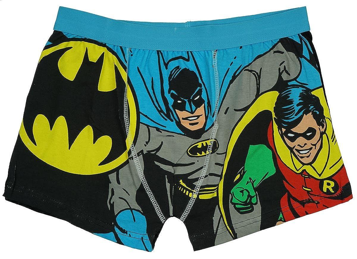 BATMAN Mens Boxer Trunks Two Pack S