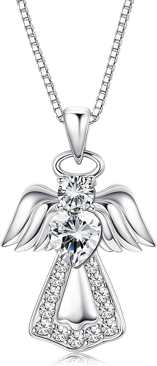 5 Guardian Angel Pendant Guest Gift Charm