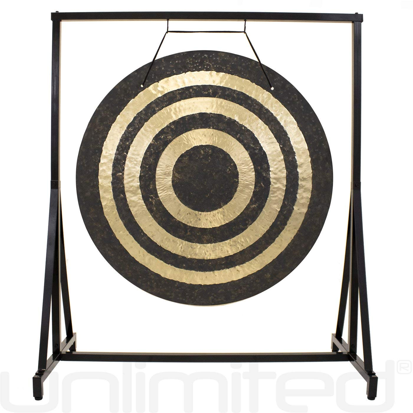 30'' to 40'' Gongs on the Everyday Miracle Gong Stand by Unlimited
