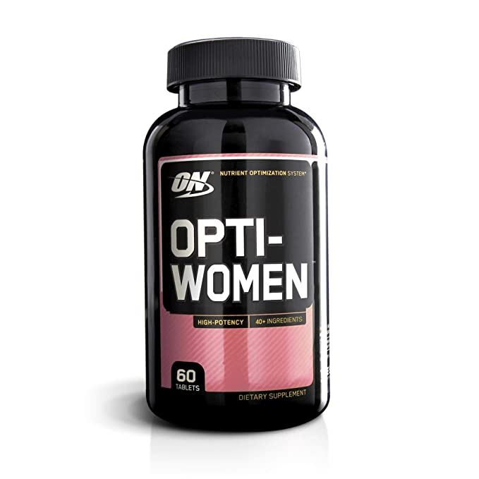 Optimum Nutrition Opti-Women Multivitamínico - 60 Cápsulas