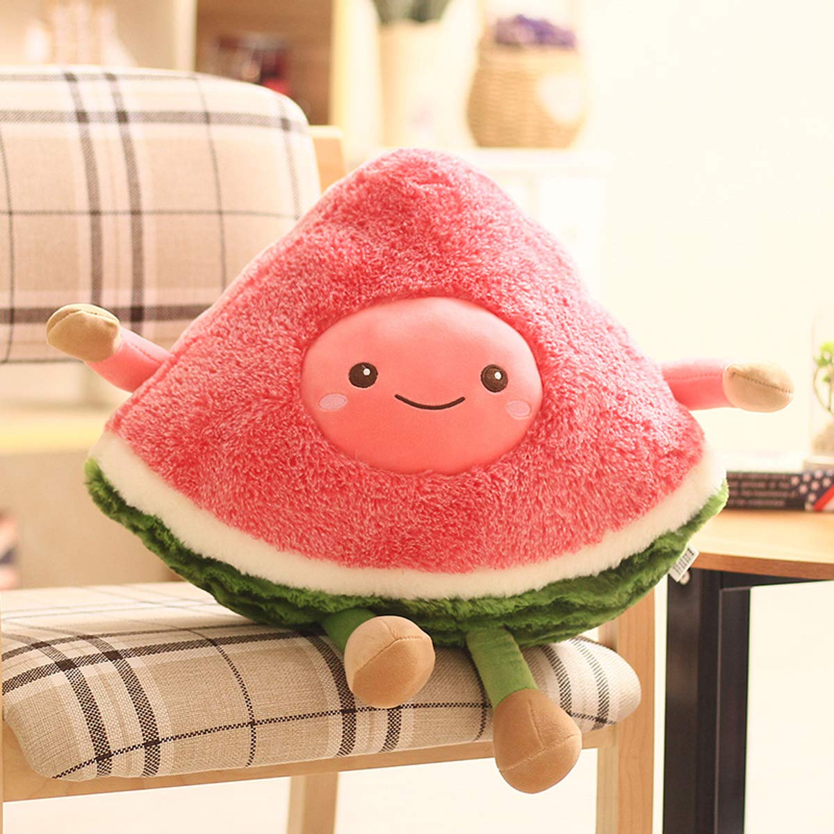 Amazon.com: AngelGift - Muñeca de frutas y verduras, peluche ...