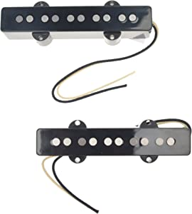 Lindy Fralin Jazz Bass Stock 5-String Pickup Set Black