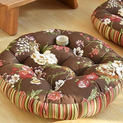 QHQH Tatami Japonés Futón Almohadillas para sillas ...