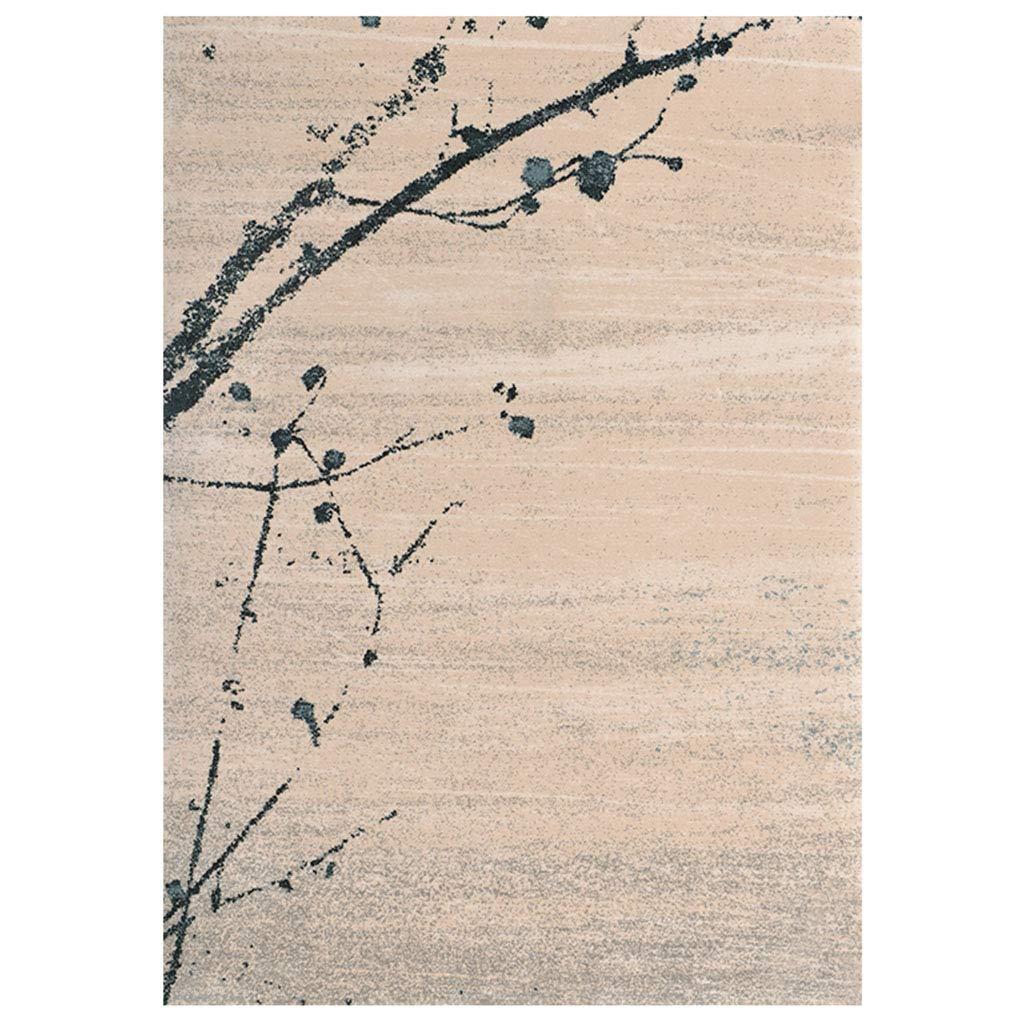 ラグカーペット 寝室スタディファッションカーペット 子供用のベッドルーム 厚いカーペット 新しい中国のリビングルームのカーペット ソファのコーヒーテーブルのカーペット ホームクラシックアートカーペット (Color : Beige, Size : 160*230*1.2cm(63*90*0.5in)) 160*230*1.2cm(63*90*0.5in) Beige B07KTR7V71