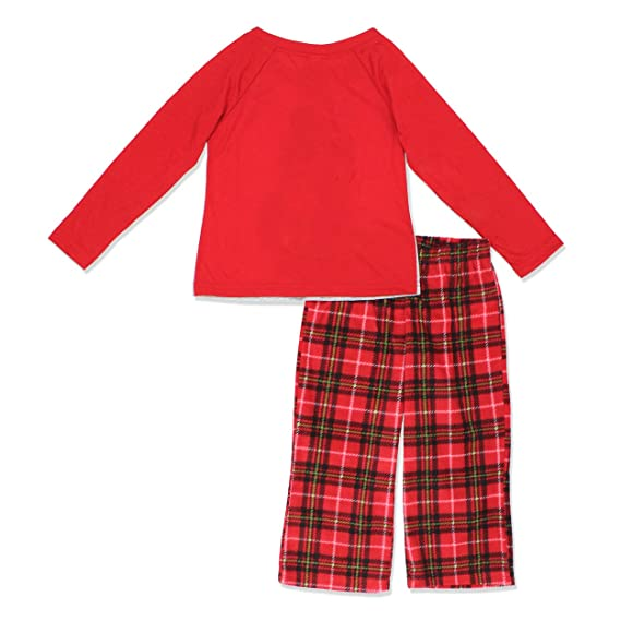 227a3668db Mickey and Minnie Mouse Christmas Holiday Family Sleepwear Pajamas  (Adult Kid Toddler) at Amazon Women s Clothing store
