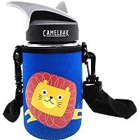 CHEETAH Water Bottle Carrier with Shoulder Strap for Camelbak Eddy Kids Water Bottle,Neoprene Water Bottle Sleeve Holder…