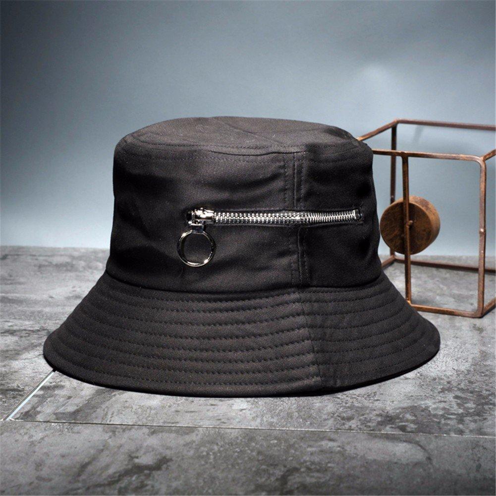 Vintage donne cappello Fashion Fisherman Hat incantevole Floppy Hat benna calda Hat,Nero