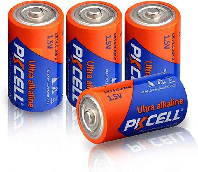 show original title L 1,5 Volt Size Details about  /4x Baby-C Alkaline Power Panasonic-lr14-Batteries