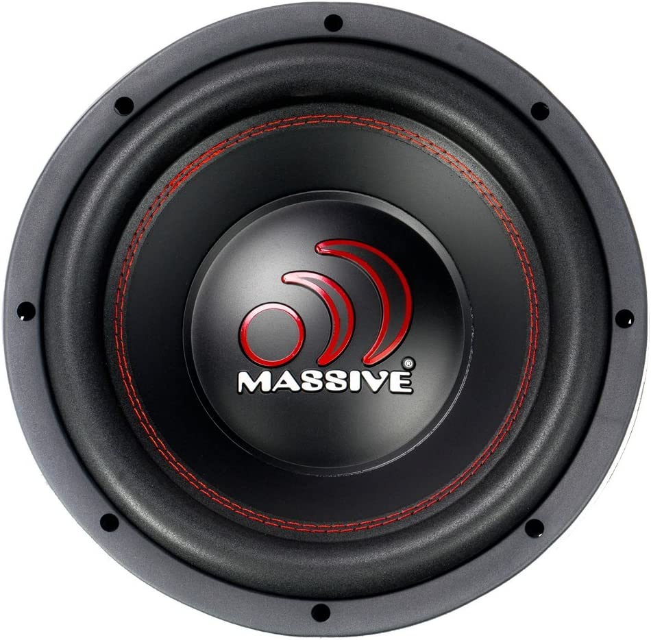 Cars Sold Individually 2.5 Inch Voice Coil Woofer with Amazing Sound for Truck Jeep Car Subwoofer by Massive Audio GTX102 10 Inch Car Audio 1400 Watt GTX Series Dual 2 Ohm