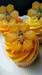 Amazon Com Unicorn Horn Ears Flowers Xl Edible Wafer Cake Topper