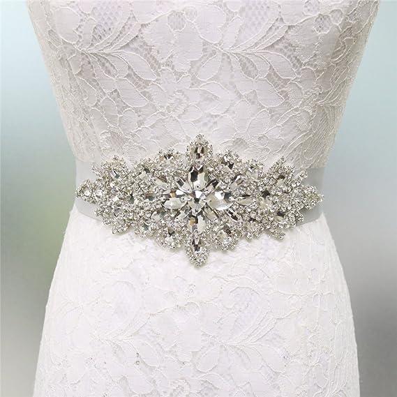 270x4cm SimpleLife Donna Elegante Cintura in Raso con Cinturino in Vita Sposa Abito da Damigella dOnore Decorazione