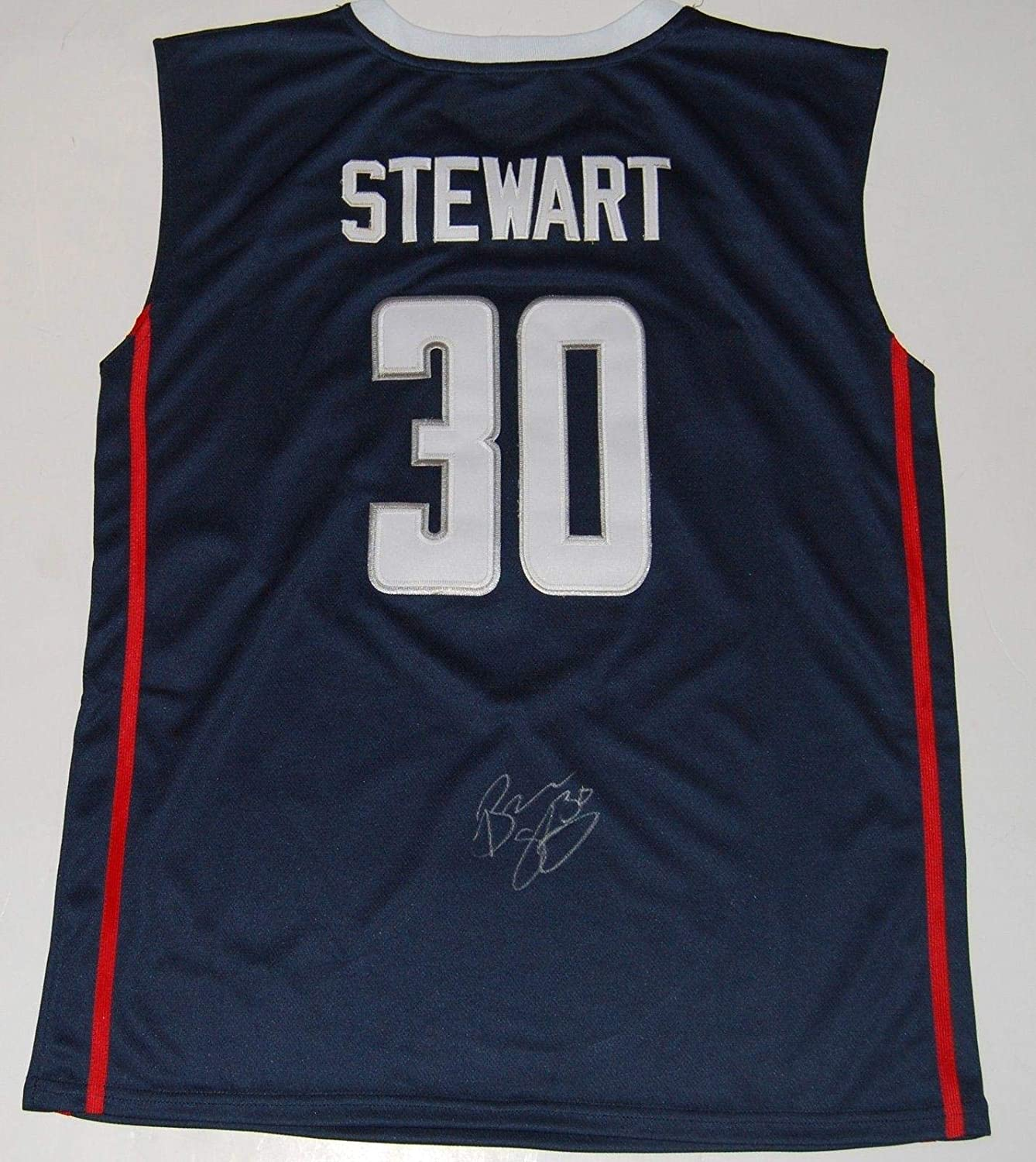 BREANNA STEWART signed (UCONN HUSKIES) basketball jersey *SEATTLE STORM* W/COA - Autographed College Basketballs Sports Memorabilia