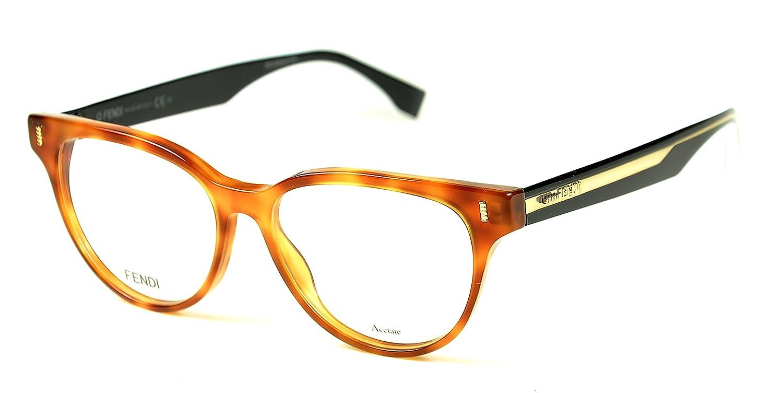 4a92ee4c3 Fendi Color Block 164 VJO - Óculos de Grau: Amazon.com.br: Amazon Moda