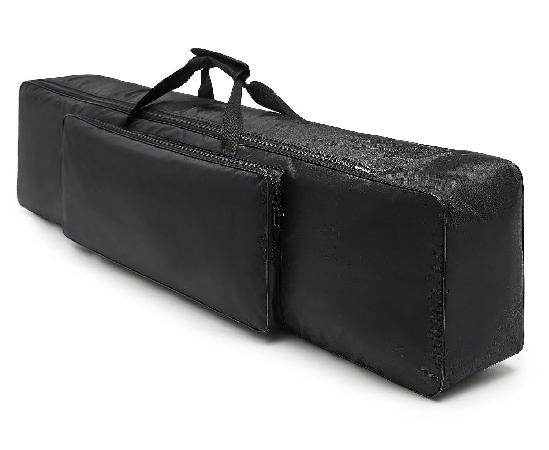 Durable Keyboard Gig Bag, Multifuncional Para Proteger y Almacenar o Viajar Con Su Teclado / Conveniente Para la Mayoría de 88 Teclas Teclado Electrónico y Pianos Digitales HOGAR AMO HT00139-01@#JL