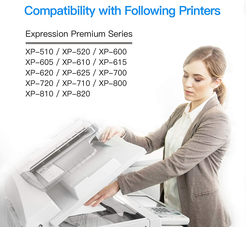 INK INSPIRATION/® Reemplazo para Epson 26 26XL Multipack 30 Cartuchos de Tinta Compatible con Epson Expression XP-610 XP-620 XP-600 XP-700 XP-605 XP-615 XP-710 XP-520 XP-800 XP-625 XP-720 XP-820 XP-510