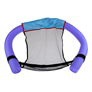 perfk Flotador de Silla con Fideo Flotante para Piscinas Playas Juguete de Agua para Niños y Adultos - Púrpura: Amazon.es: Deportes y aire libre