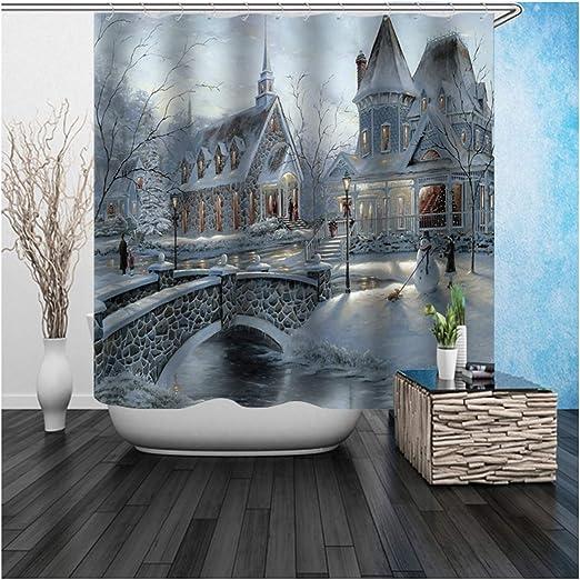 Coniea - Mampara de Ducha para bañera, sin Agujeros, con candado, Color Gris, Gris, 180 x 200 cm: Amazon.es: Hogar