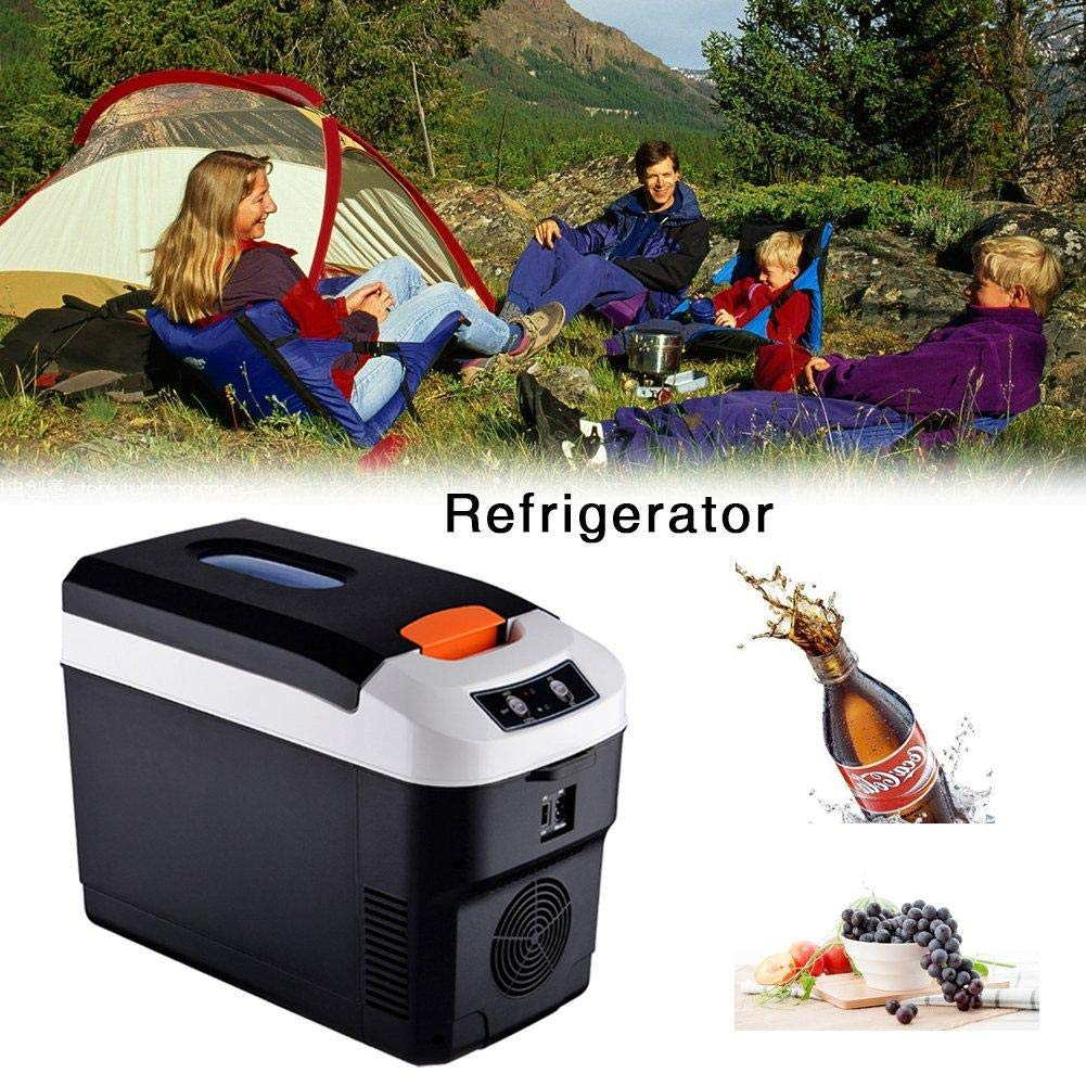 for Home Compact /& Portable 10 Liter Car Funarrow Mini Fridge Refrigerator Cooler and Warmer Office Dorm or Trip