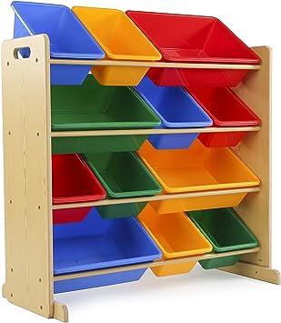 9 Poubelle Meuble De Rangement Tiroirs-Enfants Chambre à coucher DUCS DE STOCKAGE-en bois Coffre à jouets