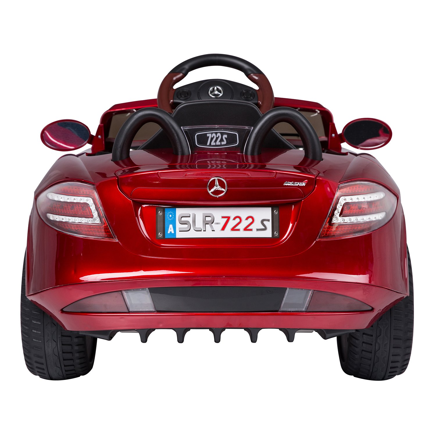 Mercedes Benz 722s Kids 12v Electric Ride On Toy Car W Remote Starter Diagram Parent Control Red By Aosom Toys Games