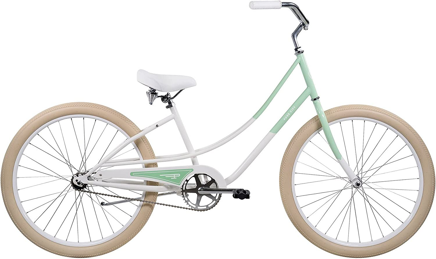 Pure City Women s Cruiser Bicycle, 26-Inch Wheels
