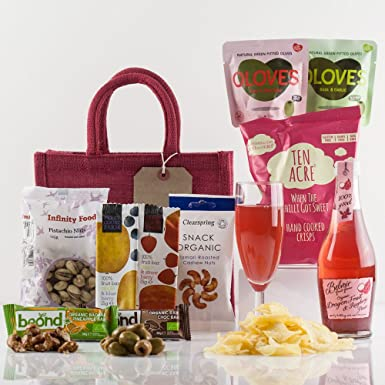 Natures Hampers Vegetarian Treat Gift Bag