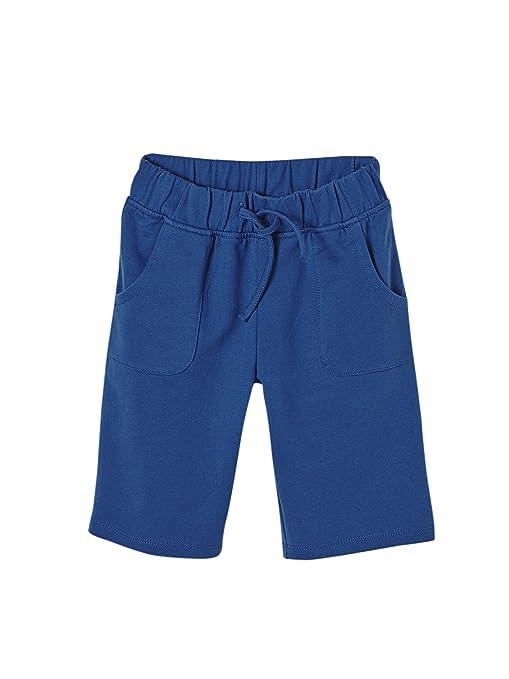 d00d1d0619de5 Vertbaudet Pyjashort garçon bi-matière Bleu rayé 14 A  Amazon.fr  Vêtements  et accessoires