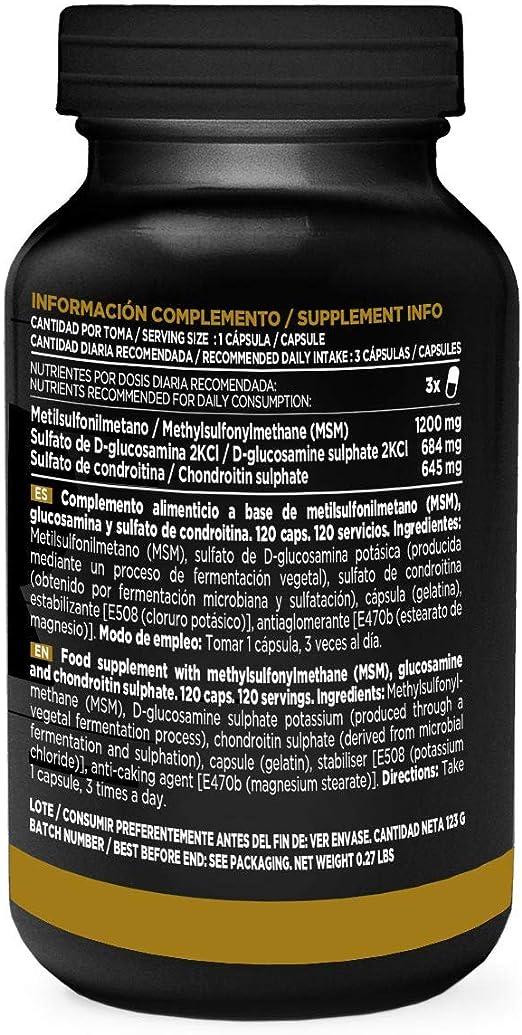 Evoflex de HSN   Glucosamina + Condroitina + MSM   Suplemento para ...