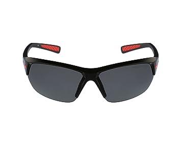 Nike Gafas de Sol EV 0527 Skylon Ace P 006 plástico Negro – Rojo y Negro