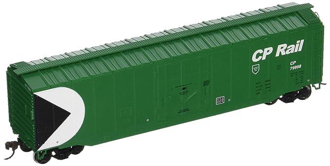 Bachmann Trains Cp Rail (Green) 50u0027 Plug-Door Box Car-Ho  sc 1 st  Amazon.com & Amazon.com: Bachmann Trains Cp Rail (Green) 50u0027 Plug-Door Box Car-Ho ...