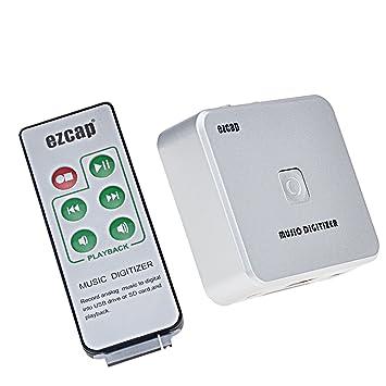 EZCAP Capturadora de Audio y Música digitalizador grabadora ...