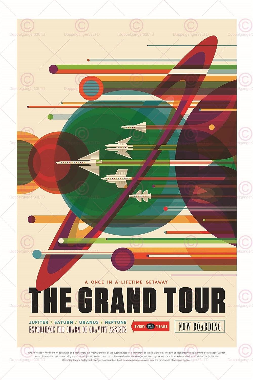 SPACE TOURISM SCIENCE FUN TRAVEL MARS TOURISM HISTORIC SITES POSTER PRINT LF1822