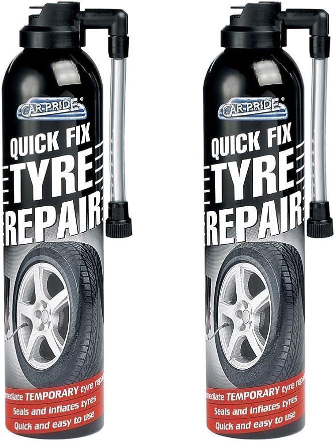 Autoreifen Notfall Reparaturset Für Reifenpannen 2 Stück Auto