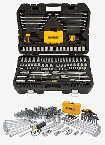 5546554bd8b Professional Mechanic Tool Set Chrome with Case (168-Pc). Complete Mechanics  Tools