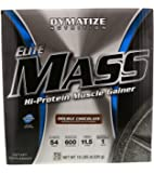 Dymatize Nutrition Elite Mass Double Chocolate 10 lbs (4540g)