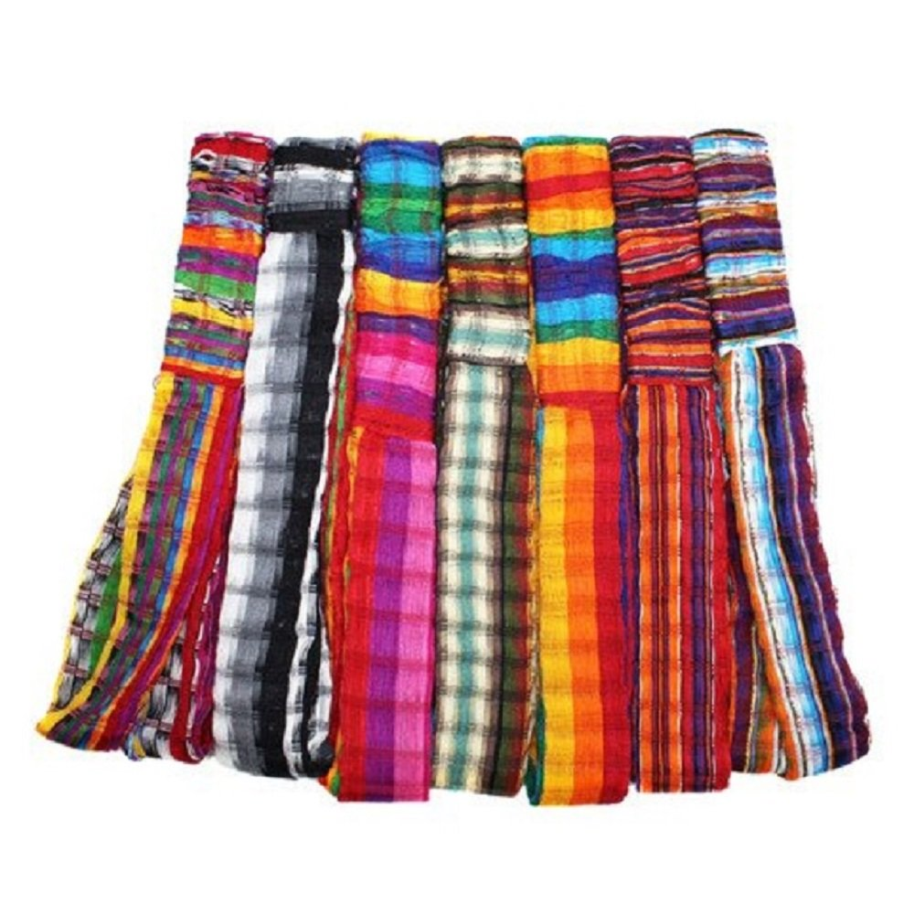 Wholesale 3 Cotton Headbands Hair Assortment Hand Woven Colorful Peru Fair Trade by Sanyork (Image #1)