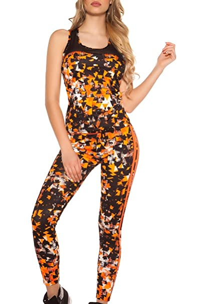 Koucla - Chándal - para Mujer Naranja neón XS/S: Amazon.es: Ropa y ...