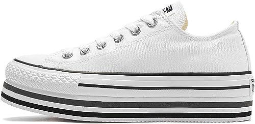 compiti a casa Annulla sete  Converse Donna Sneakers Chuck Taylor all Star Platform Layer Ox: MainApps:  Amazon.it: Scarpe e borse