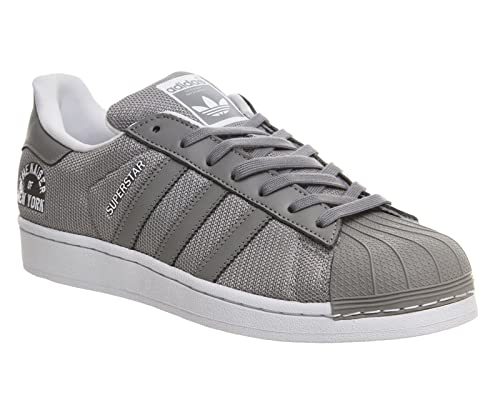adidas Superstar Beckenbauer Pack - Zapatillas para Hombre, Color Gris/Blanco, Talla 36: Amazon.es: Zapatos y complementos