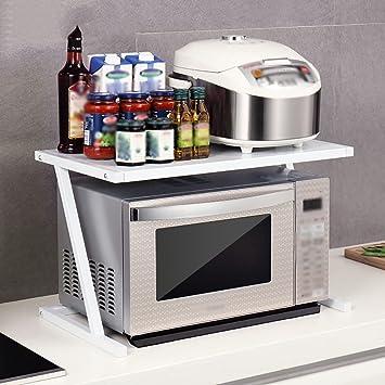 Amazon.de: Küche Lagerung und Organisation Küche Regal Mikrowelle ...
