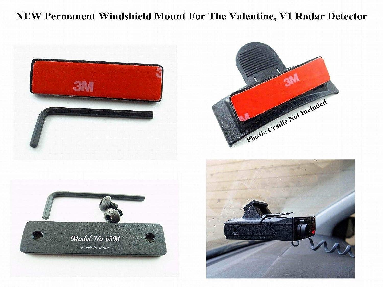 V3M Improved 3M Taped Permanent Windshield Mount for The Valentine 1 Valentine1 V1 Radar Detectors Radargun