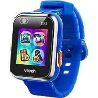 VTech - Kidizoom Smart Watch DX2, Reloj inteligente para niños, doble cámara de fotos, vídeos, juegos, color Azul…